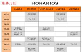 HORARIOS-CENTRO-DAN-TIAN