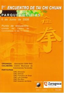 CENTRO DAN TIAN - I Encuentro de Tai Chi - Ayuntamiento Zaragoza
