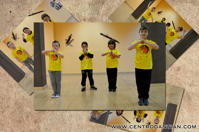 kung fu infantil los pequeños shaolin centro dan tian zaragoza